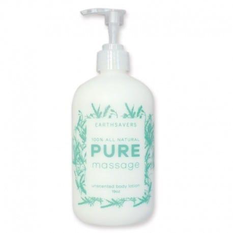 earthsavers massage lotion