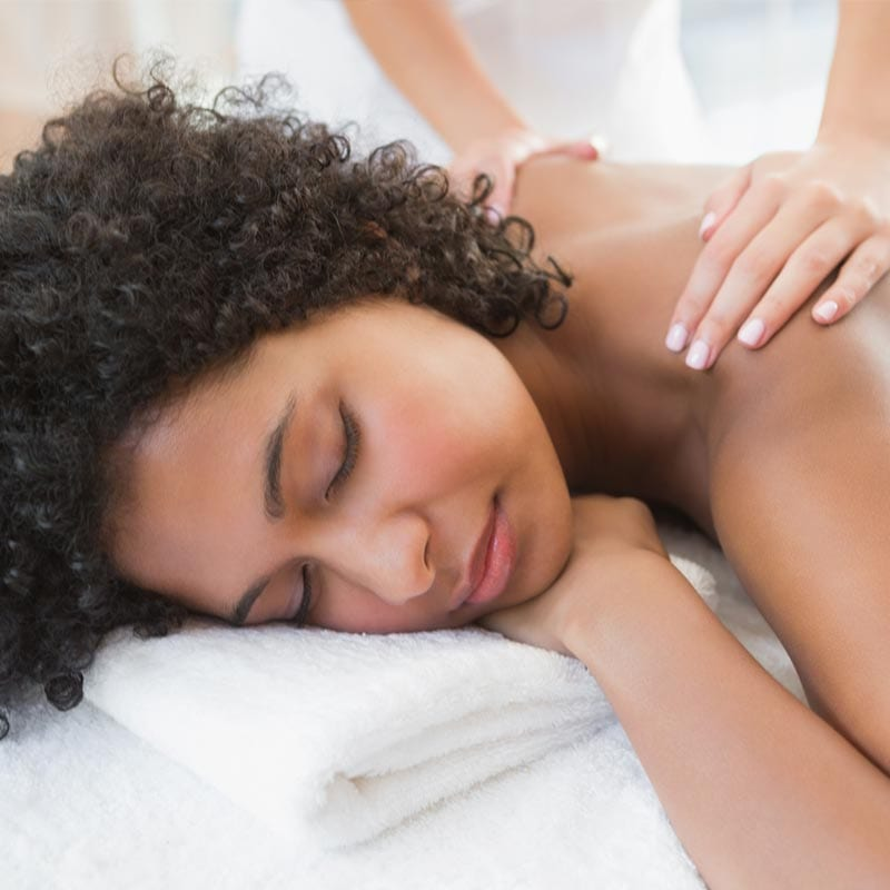 the Bride's Day earthsavers uplift massage - Earthsavers Spa + Store