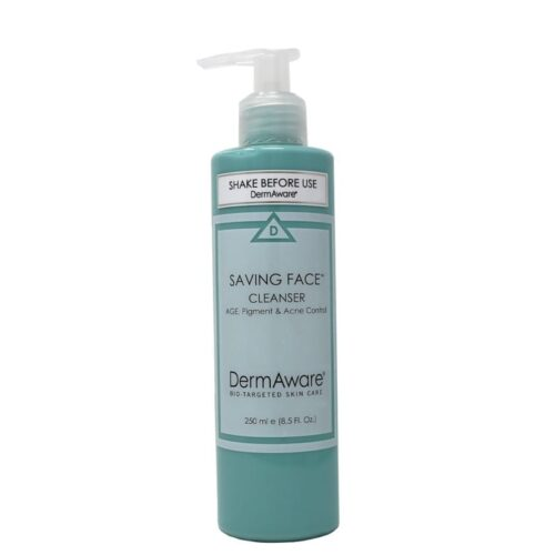 saving face cleanser dermaware - Earthsavers Spa + Store
