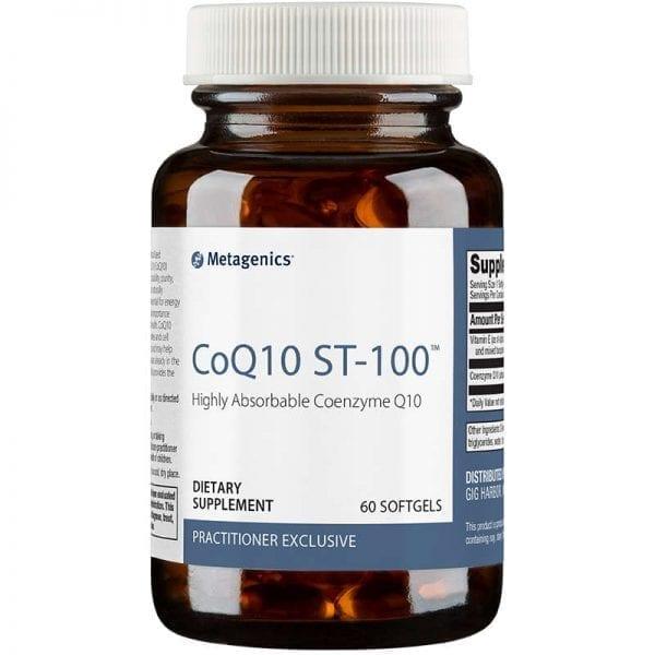 coq10 st-100 Metagenics & earthsavers