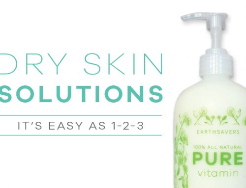 Dry Skin Solutions: It's As Easy As 1-2-3