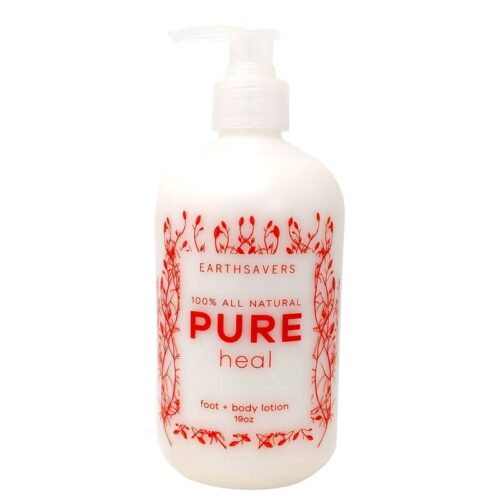 heal body + foot lotion - Earthsavers Spa + Store
