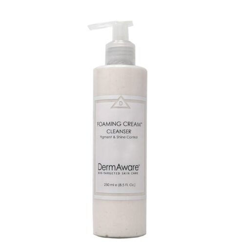 foaming cream cleanser dermaware - Earthsavers Spa + Store