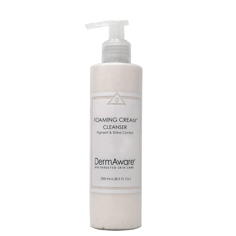 foaming cream cleanser dermaware - Earthsavers Spa + Store