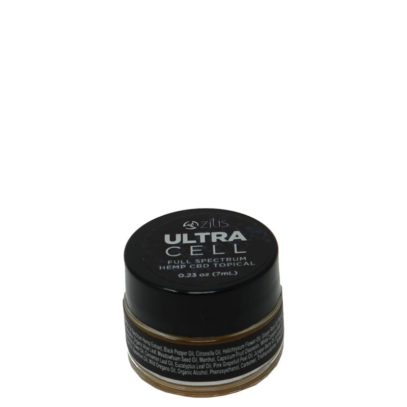 zilis ultra cell full spectrum hemp cbd topical .23oz/7ml, Products