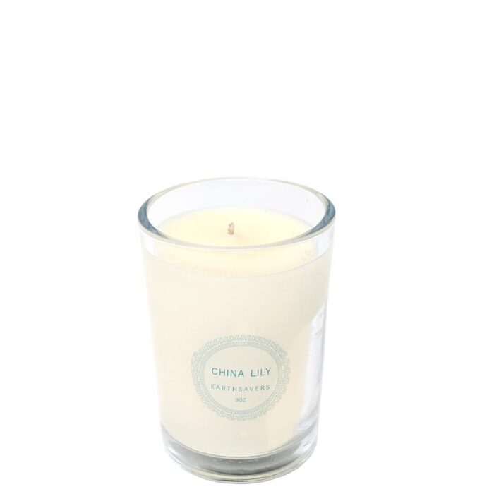china lily candle - earthsavers