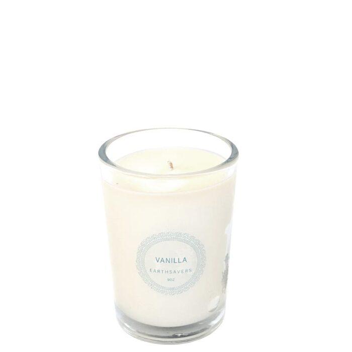 vanilla candle - earthsavers