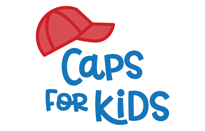ES Gives Caps For Kids