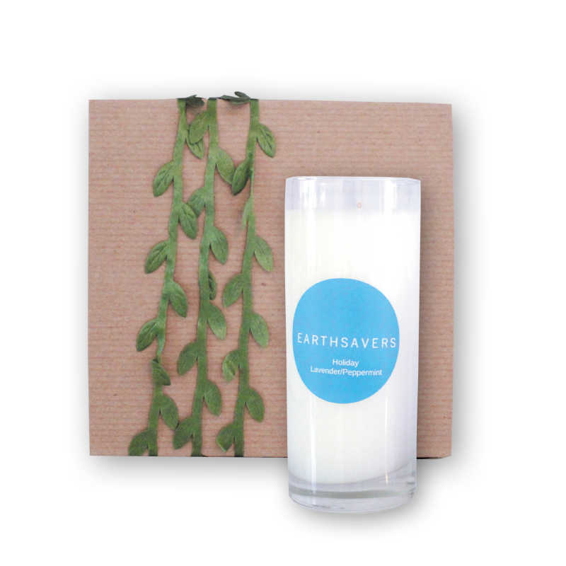 holiday candle gift box | earthsavers spa + store